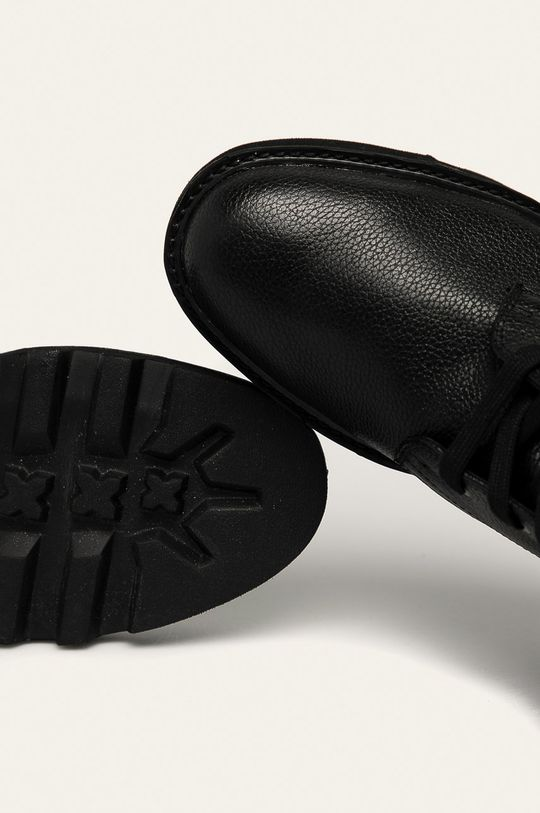 negru Calvin Klein Jeans - Ghete de piele