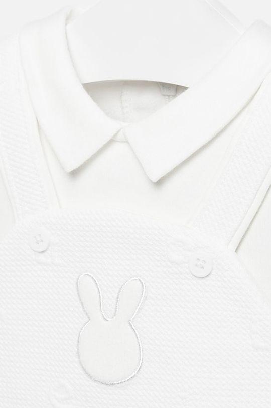 Mayoral - Costum bebe 55-75 Captuseala: 100% Bumbac Materialul de baza: 30% Bumbac, 2% Elastan, 68% Poliester
