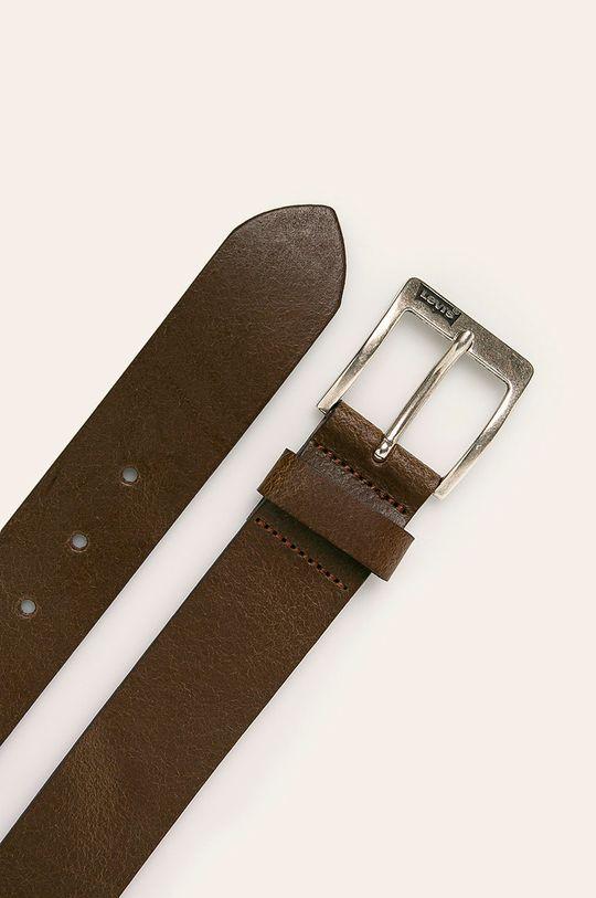 Levi's - Kožený pásek hnědá