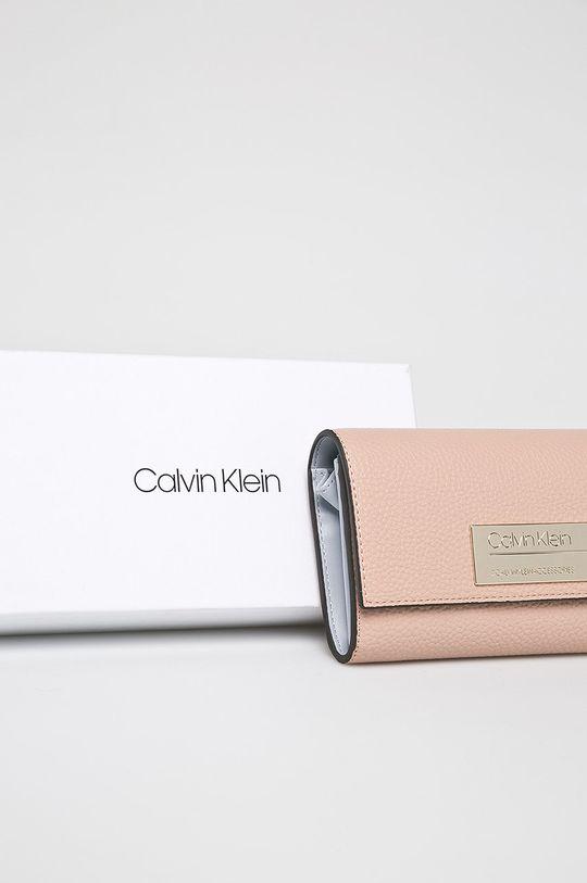 pastelově růžová Calvin Klein - Peněženka
