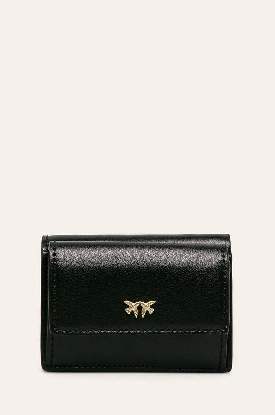 černá Pinko - Kožená peněženka Dámský