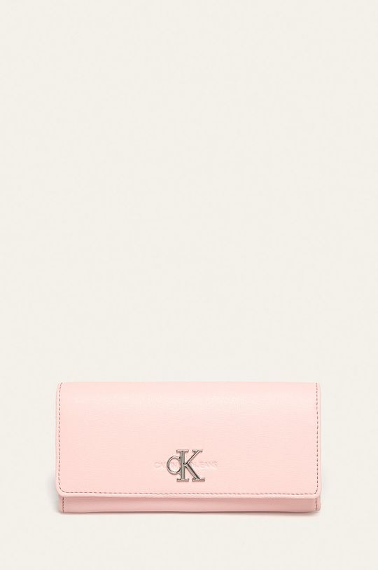 růžová Calvin Klein Jeans - Peněženka Dámský