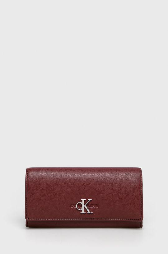 kaštanová Calvin Klein Jeans - Peněženka Dámský