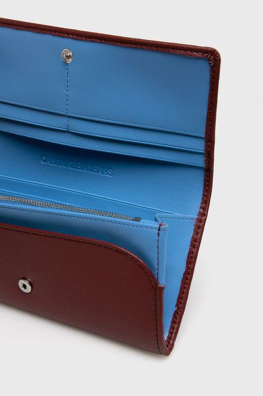 Calvin Klein Jeans - Peněženka kaštanová