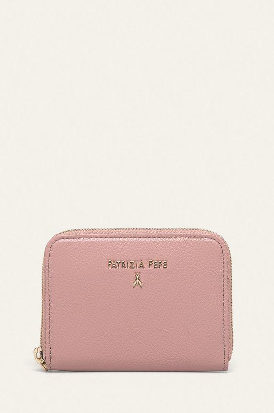 roz rosu Patrizia Pepe - Portofel de piele De femei