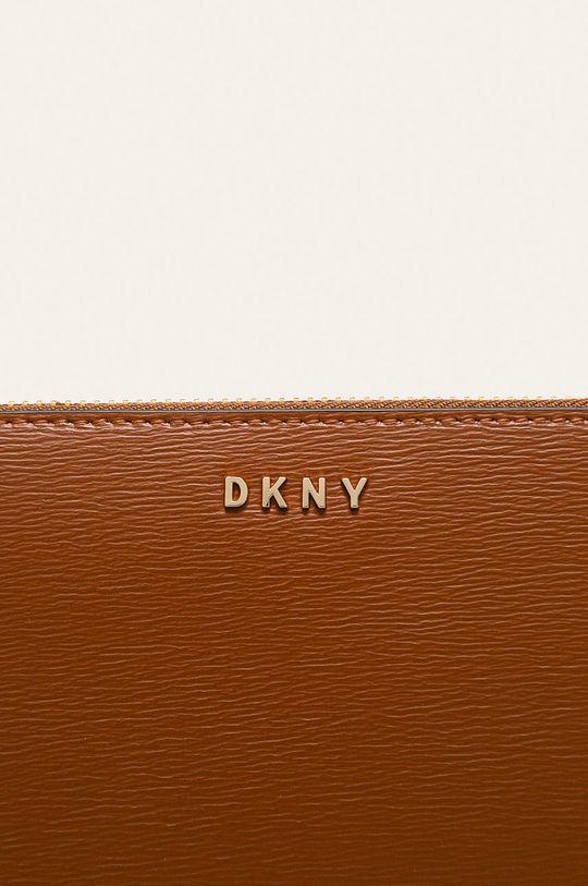 hnědá Dkny - Kožená peněženka