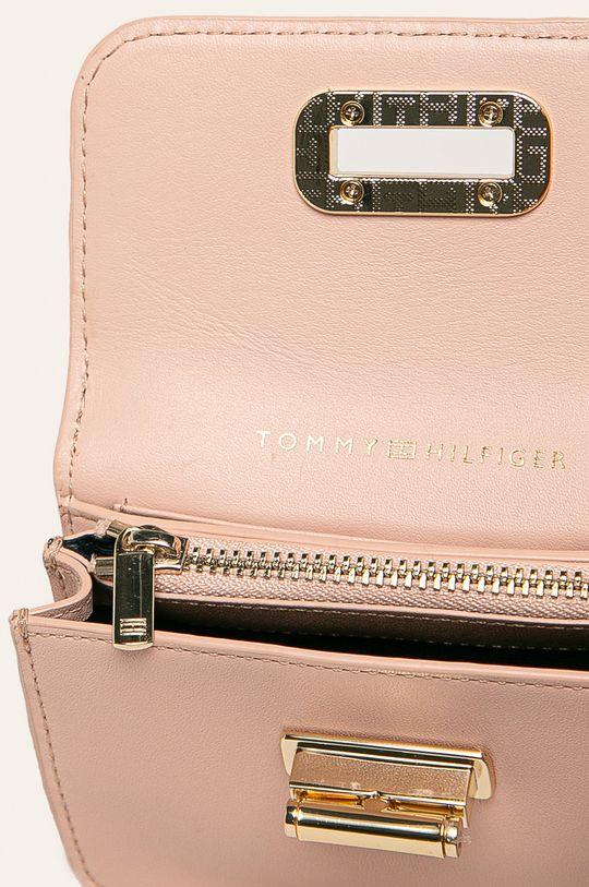 roz Tommy Hilfiger - Portofel de piele