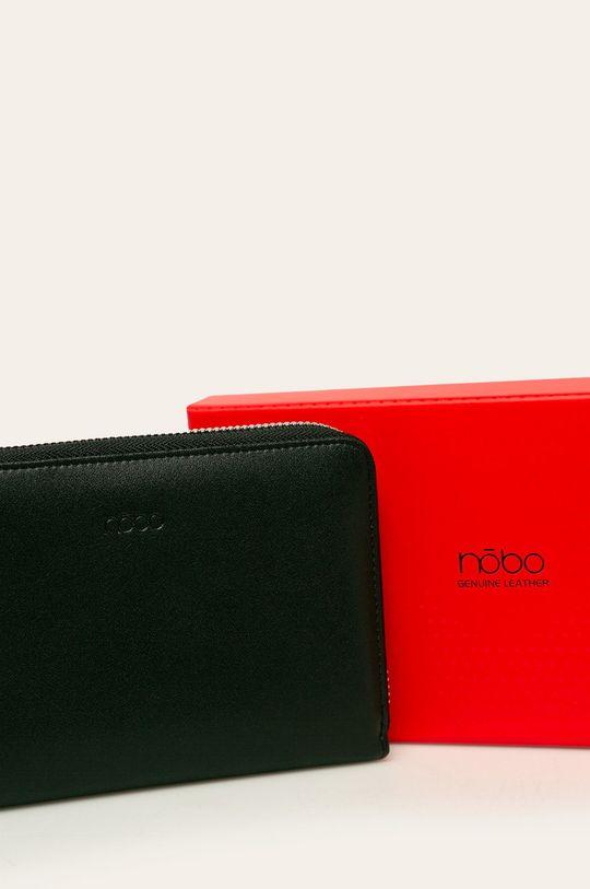 čierna Nobo - Kožená peňaženka