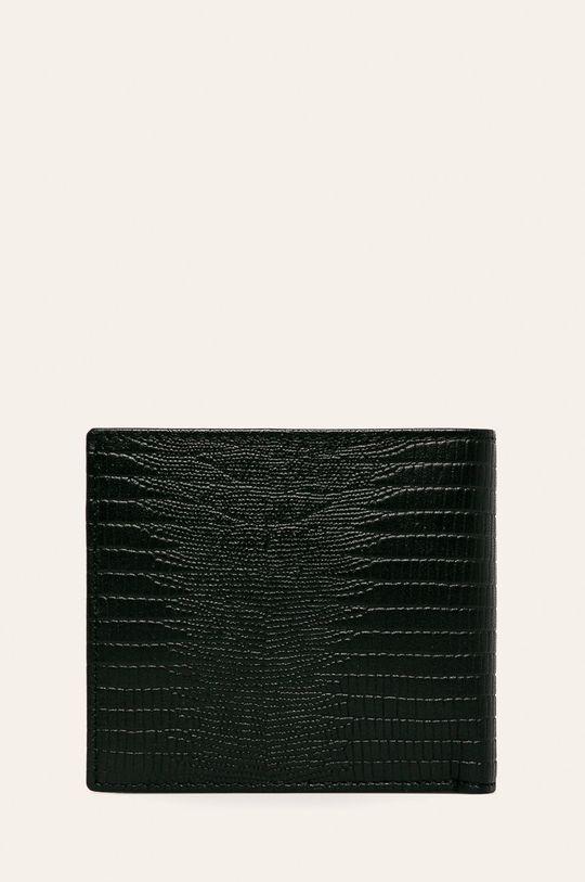 Armani Exchange - Kožená peňaženka  Podšívka: 100% Polyester Základná látka: 100% Prírodná koža