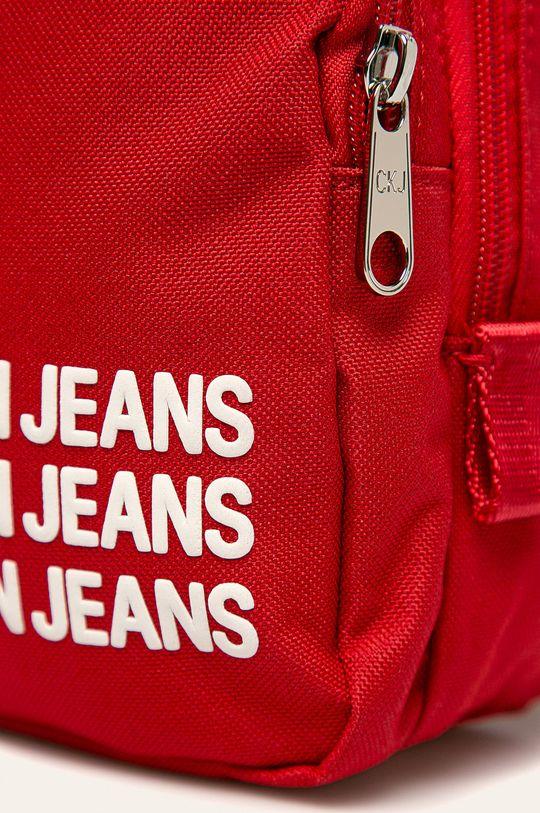 Calvin Klein Jeans - Ghiozdan copii rosu