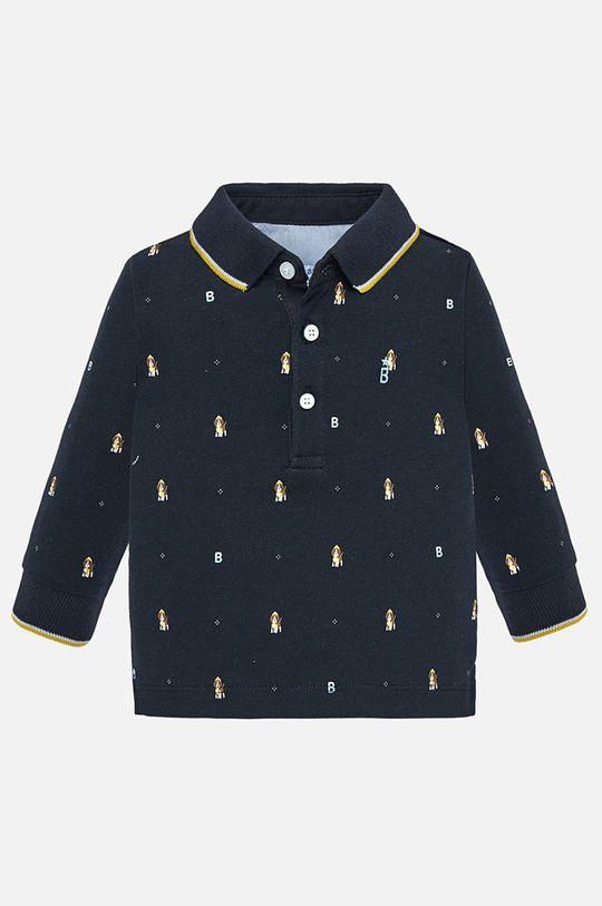tmavomodrá Mayoral - Detské tričko s dlhým rukávom 74 - 98 cm Chlapčenský