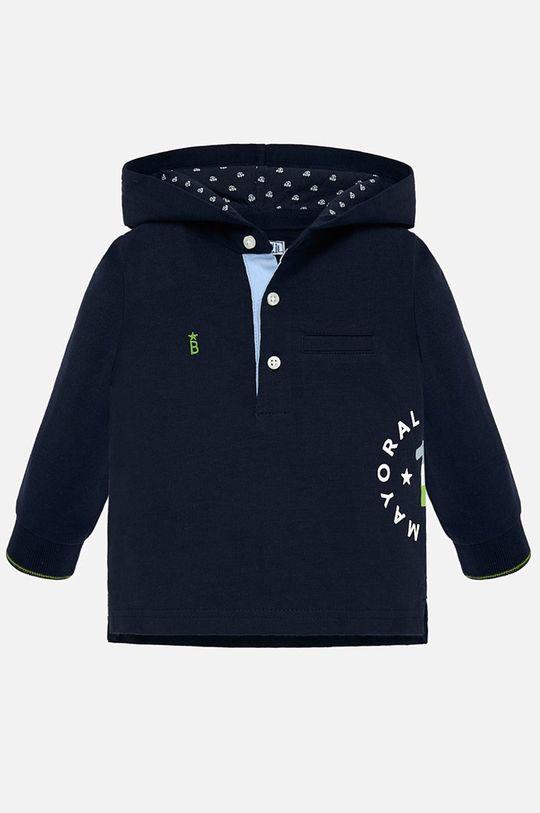тъмносин Mayoral - Детска риза с дълги ръкави 80-98 cm Момче