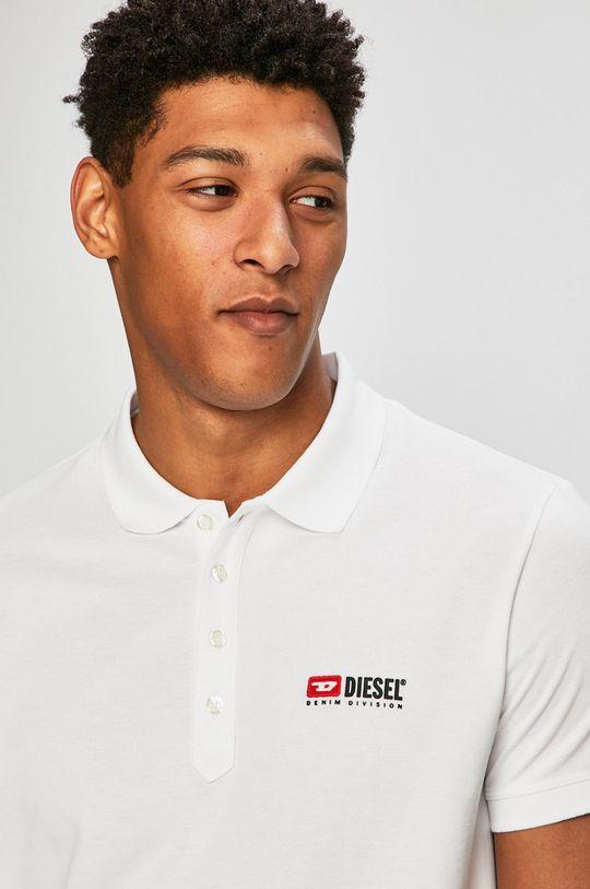 Diesel - Polo tričko bílá