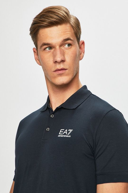námořnická modř EA7 Emporio Armani - Polo tričko