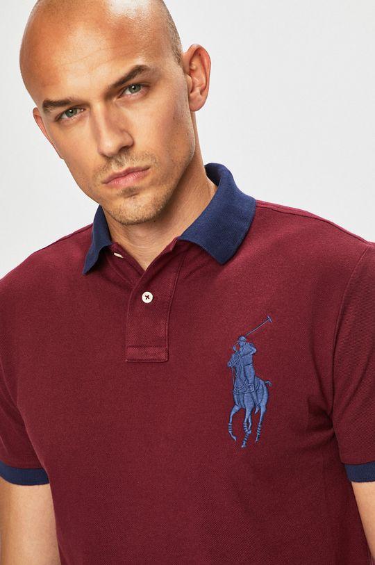kaštanová Polo Ralph Lauren - Polo tričko
