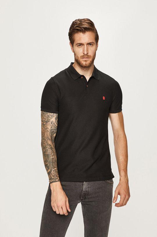 negru Izod - Tricou Polo De bărbați