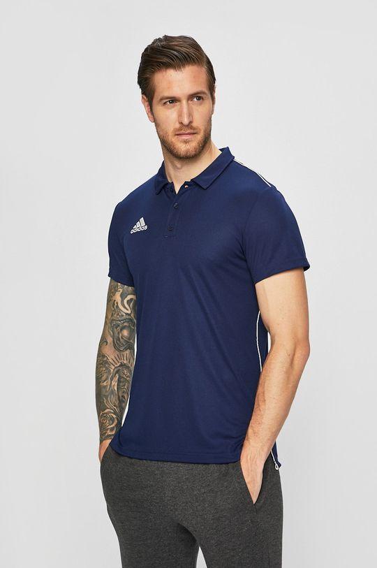 námořnická modř adidas Performance - Polo tričko Pánský