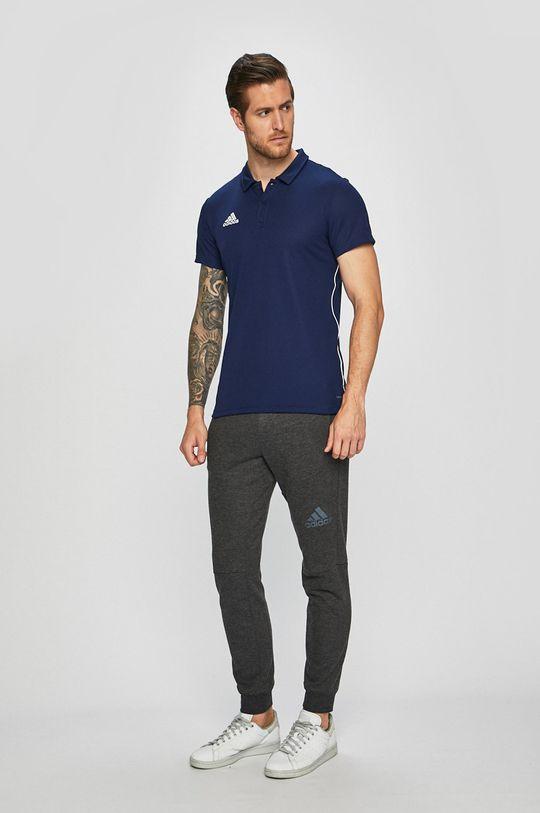 adidas Performance - Polo tričko námořnická modř