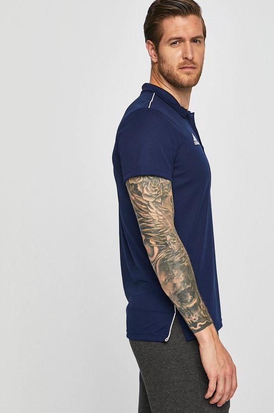 námořnická modř adidas Performance - Polo tričko