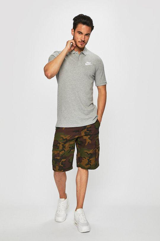 Nike Sportswear - Polo tričko šedá