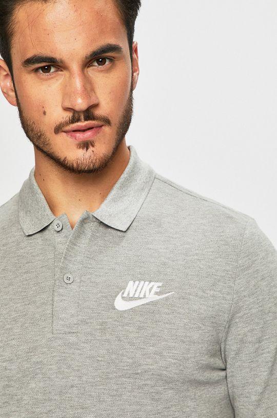 šedá Nike Sportswear - Polo tričko