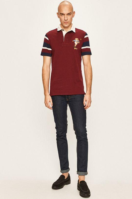 Polo Ralph Lauren - Polo tričko mahagonová