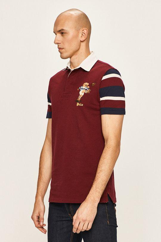 mahagonová Polo Ralph Lauren - Polo tričko