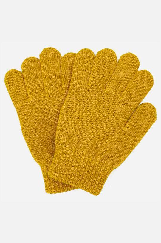 Mayoral - Detské rukavice 104-166 cm jantárová