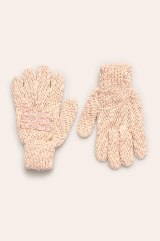 ružová Calvin Klein Jeans - Detské rukavice Chlapčenský