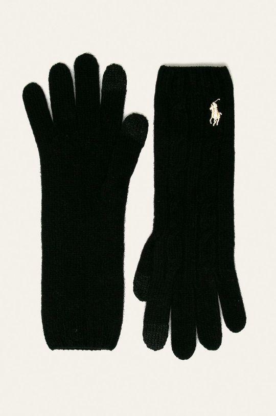černá Polo Ralph Lauren - Rukavice Dámský