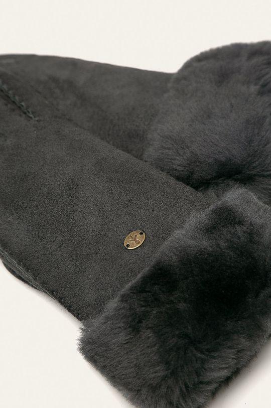 Emu Australia - Rękawiczki skórzane szary