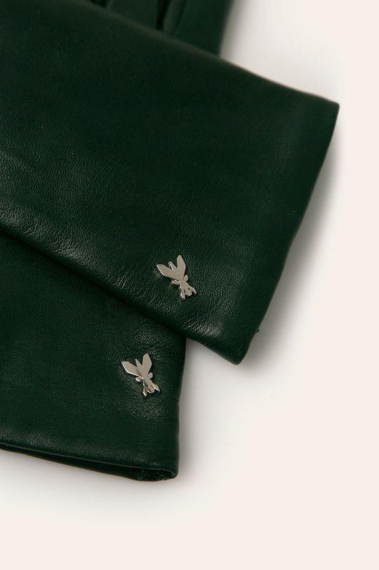 Patrizia Pepe - Kožené rukavice zelená