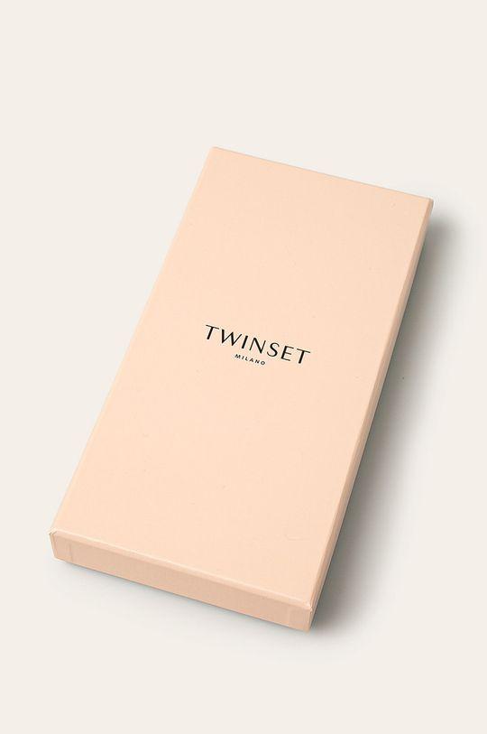 Twinset - Manusi de piele 100% Piele naturala, Piele intoarsa
