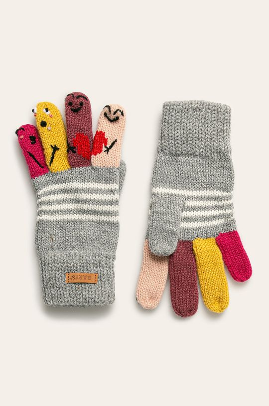 svetlosivá Barts - Detské rukavice Dievčenský