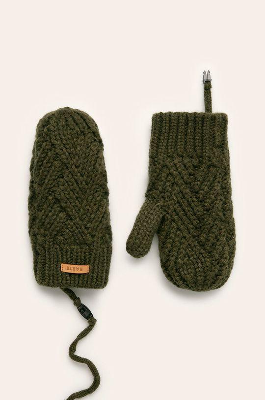 tmavozelená Barts - Detské rukavice Dievčenský