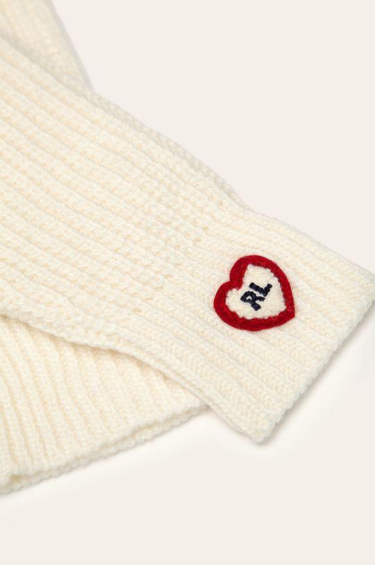 Polo Ralph Lauren - Detské rukavice biela