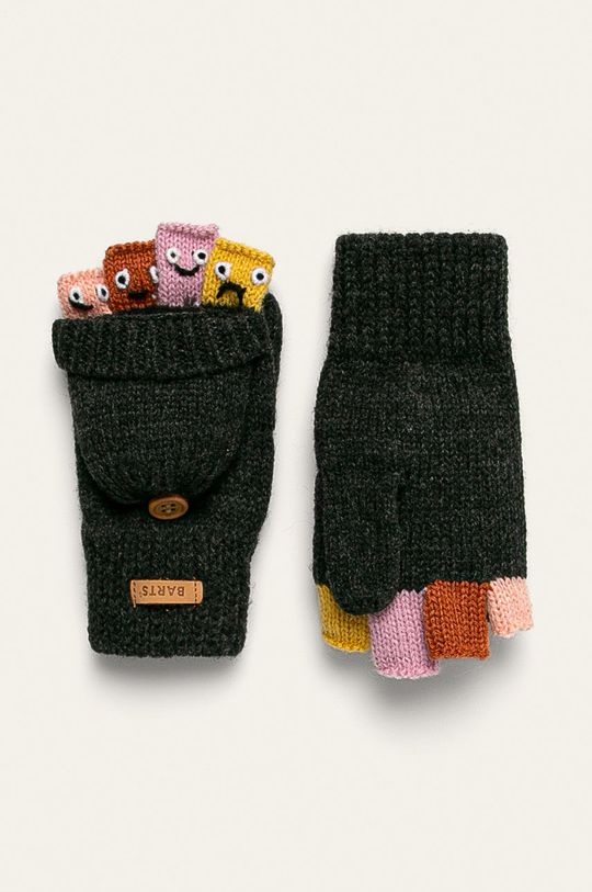 сив Barts - Детски ръкавици Puppet.Bumgloves Дитячий