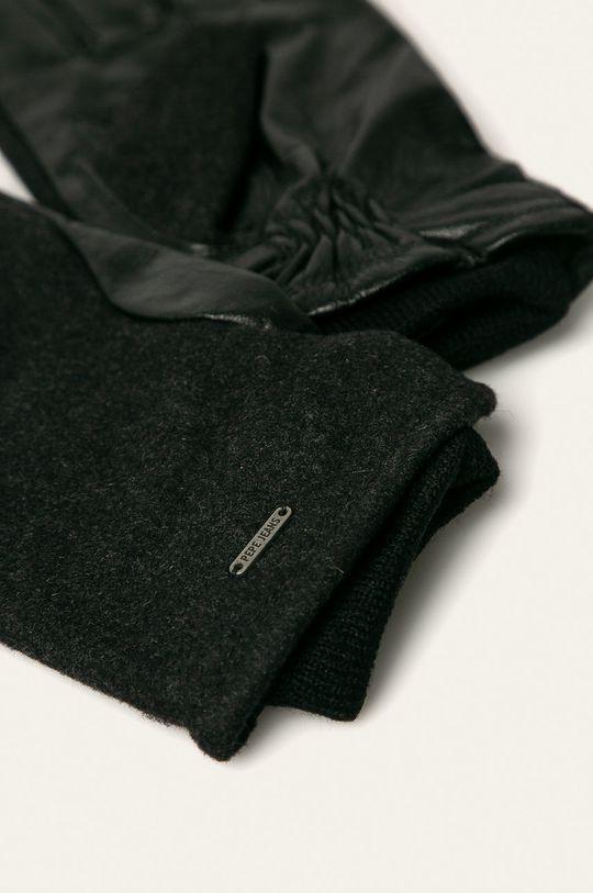 Pepe Jeans - Rękawiczki Antuan czarny