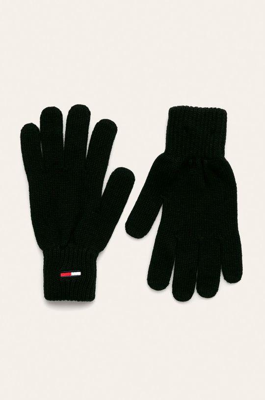 čierna Tommy Jeans - Rukavice Pánsky
