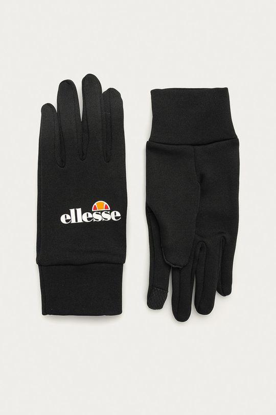 czarny Ellesse - Rękawiczki Męski
