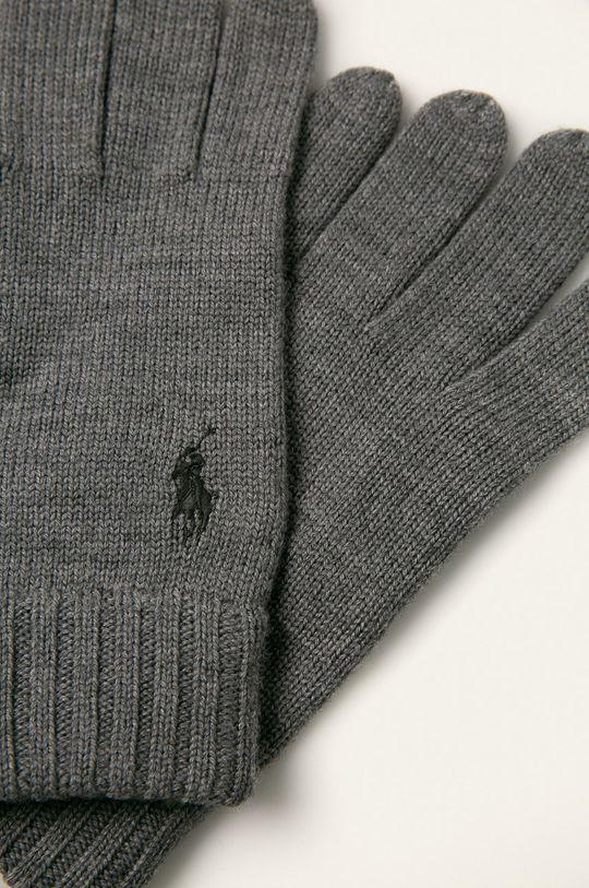 Polo Ralph Lauren - Rękawiczki szary