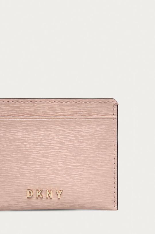 růžová Dkny - Kožená peněženka