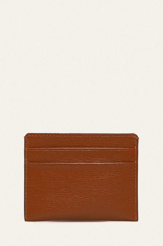 Dkny - Kožená peňaženka hnedá