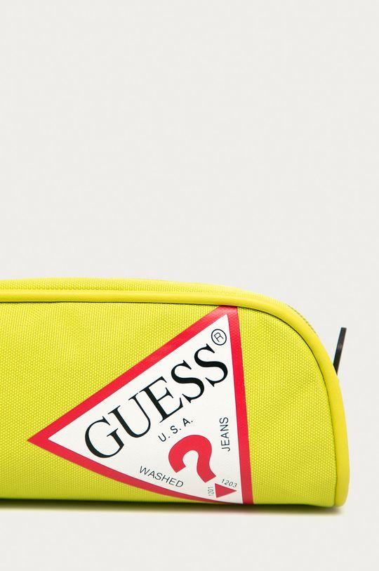 Guess Jeans - Piórnik żółty