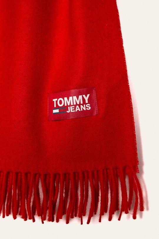 Tommy Jeans - Šál červená