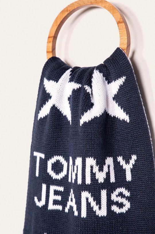 Tommy Jeans - Шарф темно-синій