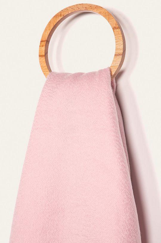 Calvin Klein Jeans - Šála pastelově růžová
