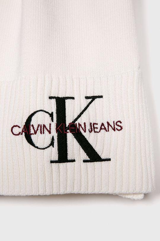 Calvin Klein Jeans - Šál biela