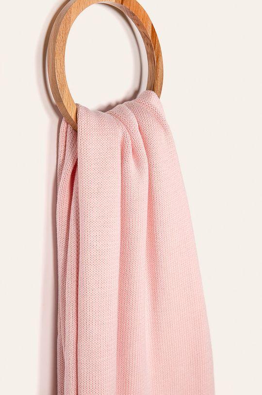 Calvin Klein Jeans - Šála starorůžová