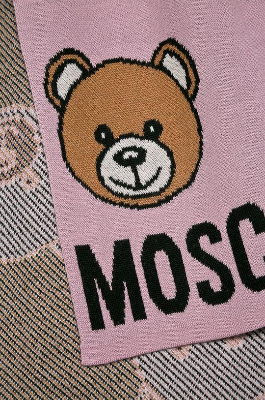 Moschino - Fular roz
